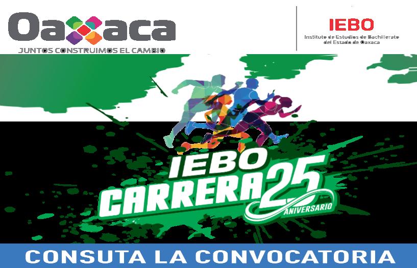 """CARRERA CONMEMORATIVA AL 25 ANIVERSARIO DEL IEBO"""