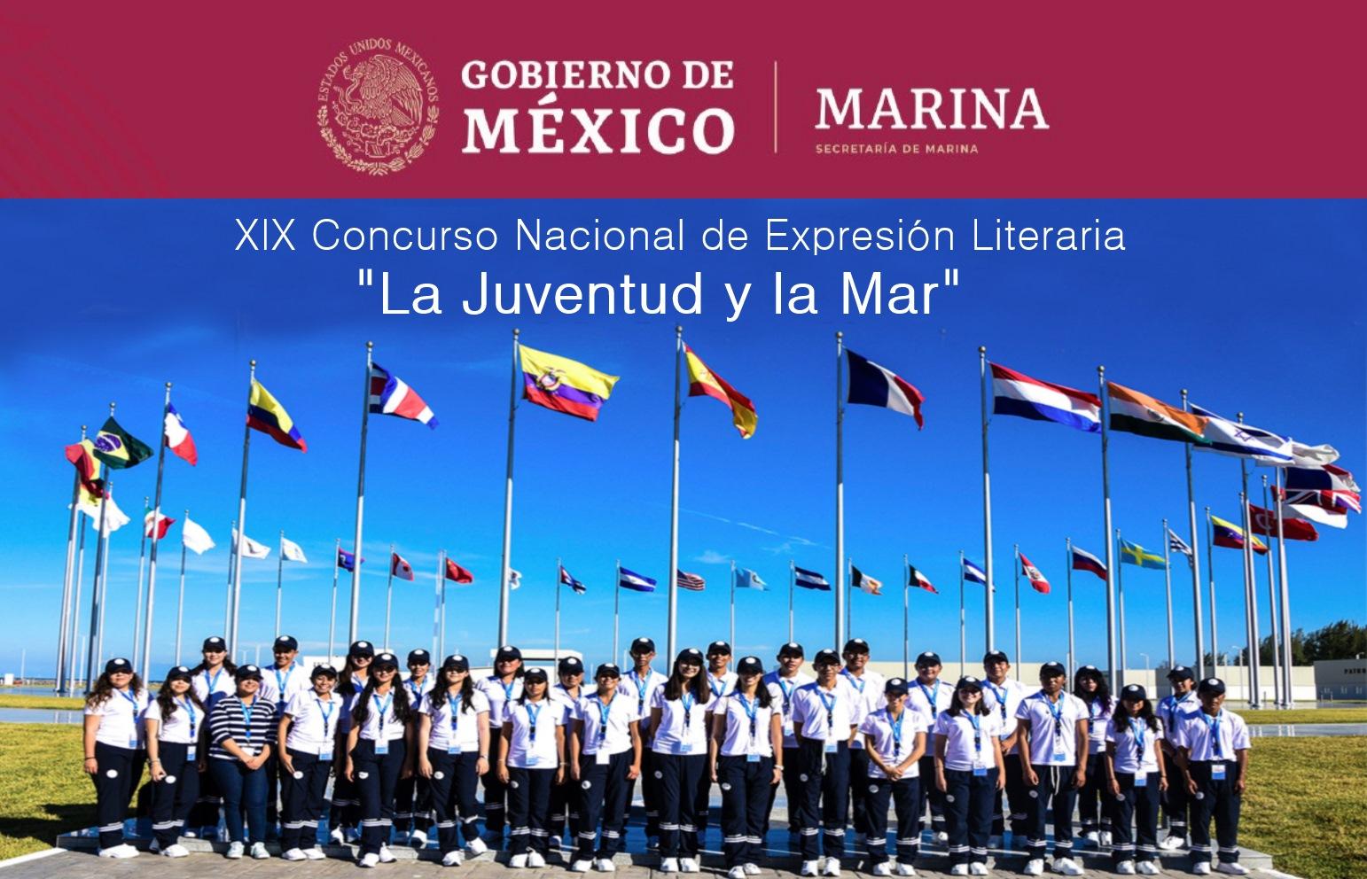 XIX CONCURSO NACIONAL DE EXPRESIÓN LITERARIA LA JUVENTUD Y LA MAR