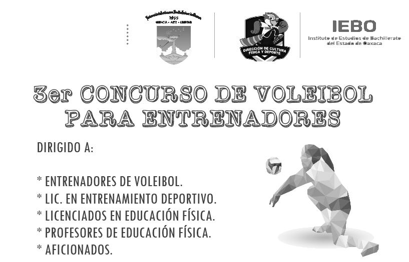 "CONVOCATORIA ""TERCER CURSO DE VOLEIBOL PARA ENTRENADORES"""