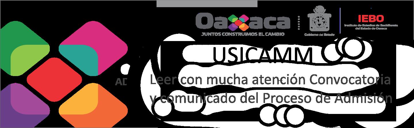 """""""USICAMM: Convocatoria y comunicado del Proceso de Admisión """""""