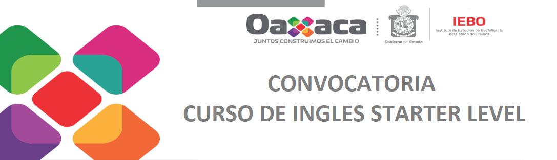 Convocatoria curso de inglés starter level