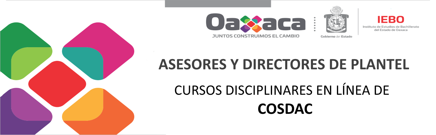 """""""Invitación a los cursos disciplinares de la COSDAC"""""""