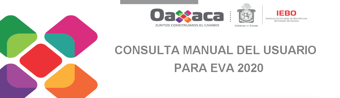 Consulta manual del usuario para EVA 2020