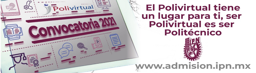 Convocatoria de Ingreso IPN 2021