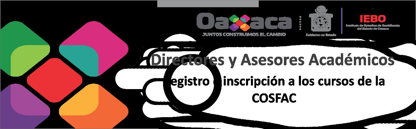 Registro e inscripción a los cursos de la COSFAC