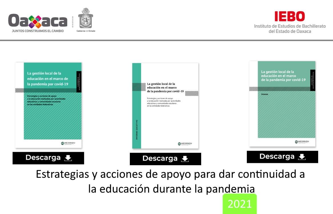 GESTIÓN LOCAL DE LA EDUCACIÓN EN EL MARCO DE LA PANDEMIA POR COVID-19