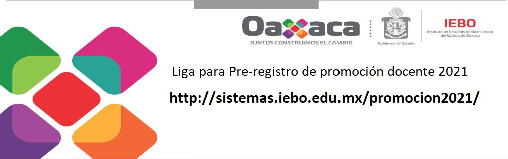 Liga para Pre-registro de promoción docente 2021
